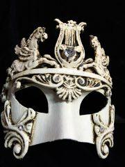 masque vénitien, loup vénitien, masque carnaval de venise, véritable masque vénitien, accessoire carnaval de venise, déguisement carnaval de venise, loup vénitien fait main Vénitien, Barocco Cavalli, Blanc