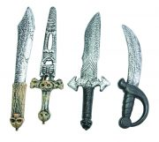 armes en plastique, faux couteaux, faux hachoir, couteau en plastique, machette en plastique, fausses armes, fausse machette, armes de déguisement, couteau de déguisement, armes accessoires halloween, couteaux de déguisement, armes de déguisement Armes Blanches