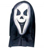 Masque de Fantôme Blanc à Capuche