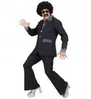 déguisement années 80 homme, déguisement survet disco, déguisement beauf, déguisement années 80 homme, déguisement années 90 homme, déguisement disco homme, déguisement homme disco Déguisement Disco Party, Noir, Années 80