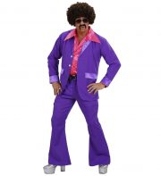 déguisement années 80 homme, déguisement survet disco, déguisement beauf, déguisement années 80 homme, déguisement années 90 homme, déguisement disco homme, déguisement homme disco Déguisement Disco Party Violet, Années 80