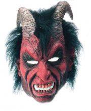 masque de déguisement, accessoire masque déguisement, accessoire masque halloween, accessoire déguisement halloween, masque diable halloween, accessoire masque diable, masque latex déguisement Masque de Diable, Latex