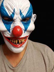 masque de déguisement, accessoire masque déguisement, accessoire masque halloween, accessoire déguisement halloween, masque clown halloween, accessoire masque clown horreur, masque latex déguisement, masque clown diabolique, masque clown halloween, masque clown maléfique Masque de Clown Pee Wee