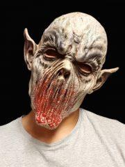 masque de déguisement, accessoire masque déguisement, accessoire masque halloween, accessoire déguisement halloween, masque horreur halloween, accessoire masque horreur, masque latex déguisement, masque de zombie, masque bouche arrachée halloween Masque d'Alien, Bouche Arrachée, Latex