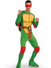 déguisement super héros, déguisement tortue ninja adulte, déguisement homme adulte, déguisement michel angelo adulte, costume tortue ninja homme, déguisement tortue ninja adulte Déguisement Seconde Peau, Tortue Ninja ™ Raphael