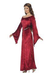 déguisement médiéval femme, costume médiéval femme, déguisement moyen age femme, robe moyen age déguisement, robe médiévale déguisement, déguisement médiéval femme Déguisement Médiéval, Maid Costume Rouge