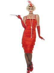 déguisement charleston, robe charleston déguisement, déguisement charleston, déguisement années 30, robe années 20, costume cabaret, déguisement cabaret femme, déguisement robe charleston Déguisement Charleston, Flapper Rouge, Longueur 2