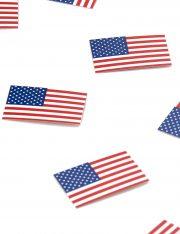 confettis de table drapeau américain, décorations drapeau américain, soirée à thème états unis décoration, décoration américaine Confettis de Table, Drapeau Américain