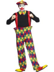déguisement homme, déguisement adulte clown, costume clown homme, costume clown, accessoire clown déguisement homme Déguisement Clown Cerceau