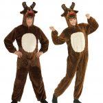 déguisement de renne, costume de renne, déguisement renne noel adulte, déguisement noel homme, déguisement noel femme, costume de renne de noel, déguisements animaux, accessoire renne déguisement noel Déguisement Renne, Combinaison