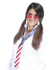 accessoire américain déguisement, accessoire drapeau américain, cravate drapeau américain déguisement, accessoire soirée américaine Cravate Drapeau Américain