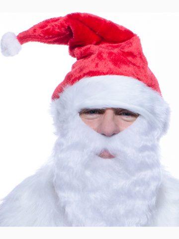 bonnet de noel, chapeau de noel, bonnet de père noel, bonnet noel lumineux, bonnet noel clignotant, bonnet de pere noel, accessoire pere noel déguisement, bonnet rouge noel, bonnet classique noel, bonnet original pere noel, bonnet Père Noël avec barbe, barbe de père noel Bonnet de Père Noël, avec Barbe Intégrée