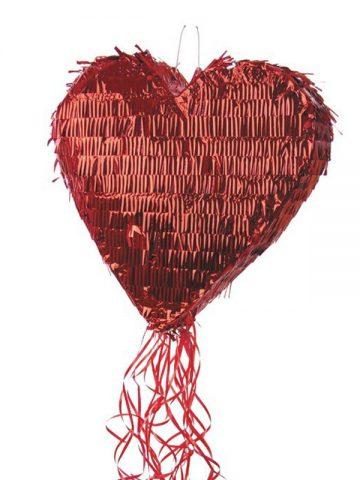 pinata coeur rouge lam aux feux de la f te paris. Black Bedroom Furniture Sets. Home Design Ideas