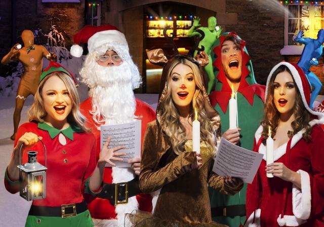 Soirée déguisement déco Déguisements Noël