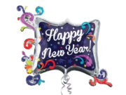 ballon hélium, ballon fête, ballon bonne année, ballon à l'hélium, ballon aluminium, ballon mylar Ballon Aluminium, Bonne Année