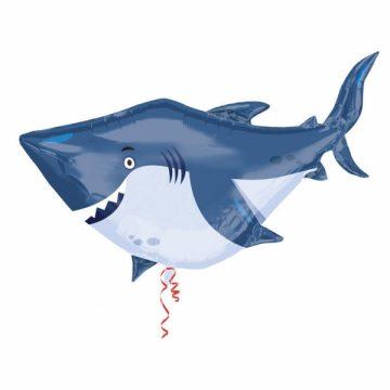ballon hélium, ballon animaux, ballon requin, ballon poisson, ballon à l'hélium, ballon aluminium, ballon mylar Ballon Aluminium, Poisson Requin Géant