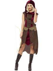 déguisement robin des bois femme, déguisement médiéval femme, costume robin des bois femme, costume médiéval femme Déguisement de Robin, Chasseuse Médiévale