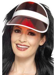 casquette poker, visière de poker, casquette joueur de poker Casquette Visière de Poker, Rouge