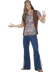 déguisement de hippie homme, costume hippie homme, déguisement hippie adulte, déguisement peace and love homme, déguisement années 70 homme, déguisement années 70 adulte Déguisement Hippie, Orion