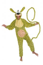 déguisement marsupilami, déguisement héros enfance, déguisement bande dessinée, costume marsupilami, déguisement original pas cher, déguisement humour Déguisement Marsupilami, Animal Mythique