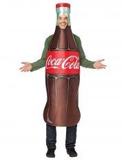 déguisement homme, déguisement bouteille de coca, déguisement humour, déguisement coca cola, déguisement frites, déguisement hamburger Déguisement Bouteille de Coca Cola™