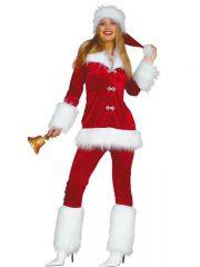 déguisement mère noel, déguisement noel pour femme, déguisement père noel femme, costume de mère Noël, déguisement mère noel Déguisement Mère Noël, Pantalon et Veste