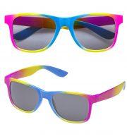 lunettes de déguisement, lunettes de fêtes, lunettes soirée déguisée, accessoires lunettes,lunettes fantaisie, lunettes pas chères, lunettes couleurs, lunettes fluo Lunettes Fluos Rainbow