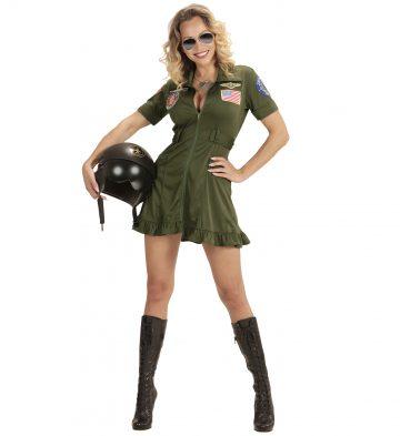 déguisement de pilote femme, costume pilote femme, déguisement femme, costume de pilote adulte, déguisement pilote adulte, déguisement pilote sexy, déguisement top gun femme, déguisement pilote de chasse, costume pilote de chasse sexy Déguisement Pilote de Chasse, Top Gun Sexy