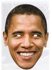 masque célébrités carton, masque politique carton, masque politique déguisement, masque célébrité déguisement, masque barack obama, masques déguisements, masque politique photo Masque Barack Obama
