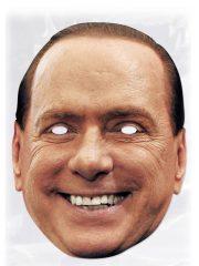 masque célébrités carton, masque politique carton, masque politique déguisement, masque célébrité déguisement, masque berlusconi déguisement, masque silvio berlusconi, masques déguisements, masque politique photo Masque Silvio Berlusconi