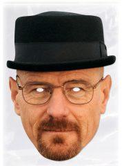 masque célébrités carton, masque politique carton, masque politique déguisement, masque célébrité déguisement, masque heisenberg breaking bad, accessoire breaking bad déguisement, déguisement heisenberg breaking bad, masques déguisements, masque politique photo Masque Heisenberg, Walter White, Breaking Bad