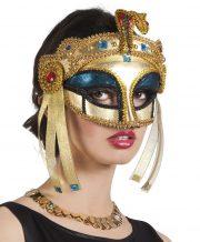accessoire égyptien déguisement, masque égypte déguisement, accessoire cleopatre déguisement, déguisement cléopatre, déguisement égyptienne, accessoire égyptienne déguisement, accessoire déguisement cléopatre Loup Reine d'Egypte