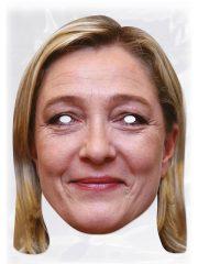masque célébrités carton, masque politique carton, masque politique déguisement, masque célébrité déguisement, masque marine lepen, masque marine le pen déguisement, masques déguisements, masque politique photo Masque Marine Le Pen