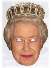 masque célébrités carton, masque politique carton, masque politique déguisement, masque célébrité déguisement, masque reine elisabeth, masque queen elisabeth déguisement, masque reine elisabeth déguisement, masques déguisements, masque politique photo Masque Reine Elisabeth