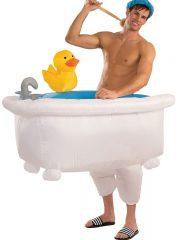 déguisement humour, déguisement baigneur, déguisement gonflable baignoire, déguisement comique, déguisement mardi gras Déguisement Baigneur, Gonflable
