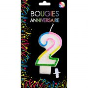 bougies chiffres, bougies pour gâteaux d'anniversaires, décorations anniversaires, bougies d'anniversaire, bougies chiffres anniversaire Bougies Chiffres, Arc en Ciel