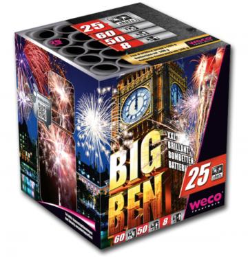 feux d'artifices big ben XXL 500, feux d'artifice automatiques, achat feux d'artifice paris, feux d'artifices compacts, feux d'artifices weco Feux d'Artifices, Compacts, Big Ben XXL 500, 1mn