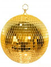 boule disco, décorations disco, décos année 80, boules discos, boules à facettes, Boule à Facettes, Boule Disco Dorée