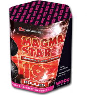 feux d'artifices magma stars, feux d'artifice automatiques, achat feux d'artifice paris, feux d'artifices compacts, feux d'artifices weco Feux d'Artifices, Compacts, Magma Star