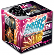feux d'artifices maniac, feux d'artifice automatiques, achat feux d'artifice paris, feux d'artifices compacts, feux d'artifices weco Feux d'Artifices, Compacts, Maniac