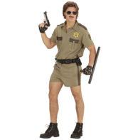 déguisement de policier adulte, déguisement police homme, costume police miami homme, déguisement policier américain, déguisement années 90, costume policier américain, déguisement police Déguisement Policier Californien