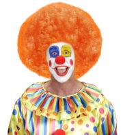 perruque de clown, perruque afro disco, accessoire perruque déguisement, perruque afro disco, perruque pour homme, perruque pour femme, perruque pas chère, perruque de déguisement, perruque unisexe, perruque orange, perruque afro Perruque de Clown, Afro, Disco 80, Orange