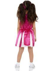 pompom girl enfant, déguisement fille, déguisements enfants, déguisement cheerleader fille Déguisement de Pom Pom Girl Pink Satin, Fille