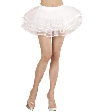 tutu blanc, tutu de danseuse, déguisement tutu, accessoire déguisement tutu, accessoire tutu déguisement Tutu Liserés Satinés, Blanc