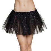tutu paillettes, tutus jupons déguisement, déguisement tutus, jupons tutus en tulle, tutu déguisement danseuse, tutu noir Tutu en Tulle et Paillettes, Noir