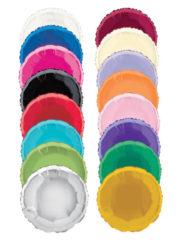 ballon hélium, ballon aluminium, ballon mylar, ballons anniversaire, ballon métal, ballons ronds aluminium Ballon Aluminium, Cercle «Uniq», 13 couleurs