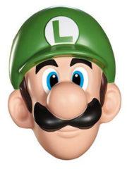 masque de luigi, mario et luigi, super mario, accessoire jeux vidéos, luigi et mario, mario et luigi, déguisement luigi Masque de Luigi