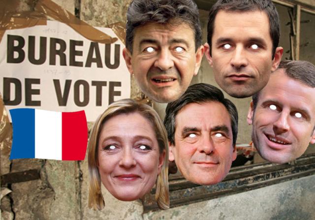 Soirée déguisement déco Masques Politiques et Célébrités