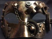 masque steampunk, déguisement steampunk, accessoire steampunk, thème sciences, steampunk Loup Steampunk