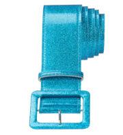 ceinture paillette déguisement, accessoire paillette déguisement, ceinture disco, accessoire disco déguisement, déguisement disco, accessoire années 80 déguisement Ceinture Paillettes, Bleu Turquoise